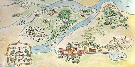 Hello Holidays: Make your own map drawing workshop @ St Peters Library tickets