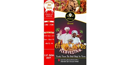 FLOBINNA Presents CHEF WARS - (VENDORS ONLY) tickets