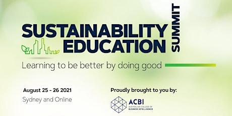 ACBI Sustainability Education Summit tickets
