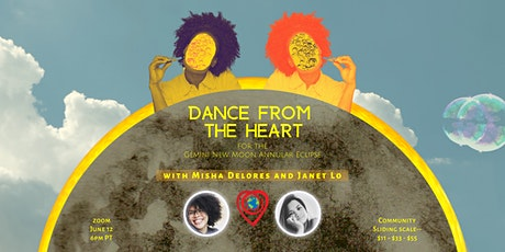 Dance from the Heart - Moving with the New Moon in Gemini tickets