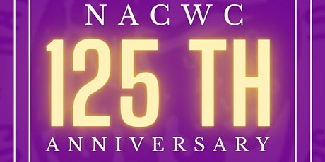 NACWC INC. 125th Anniversary ingressos