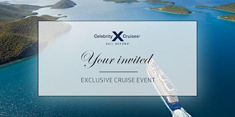 Luxury Cruising with Celebrity Cruises tickets