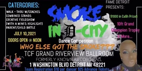 """FAME """"Smoke In D-City"""" Dance Competition tickets"""