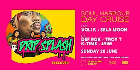 Glass Island pres. Soul Harbour - Drip Splash Takeover - Sun 20th June tickets