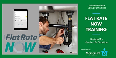 Flat Rate NOW Training for Plumbers and Electricians tickets
