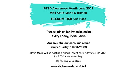 PTSD_Our Place - Series of Talks for PTSD  Awareness Month 2021 tickets