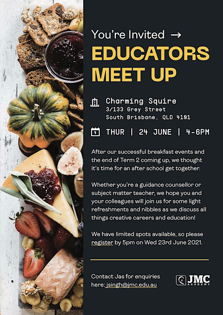 JMC Brisbane Educators Meet-Up image