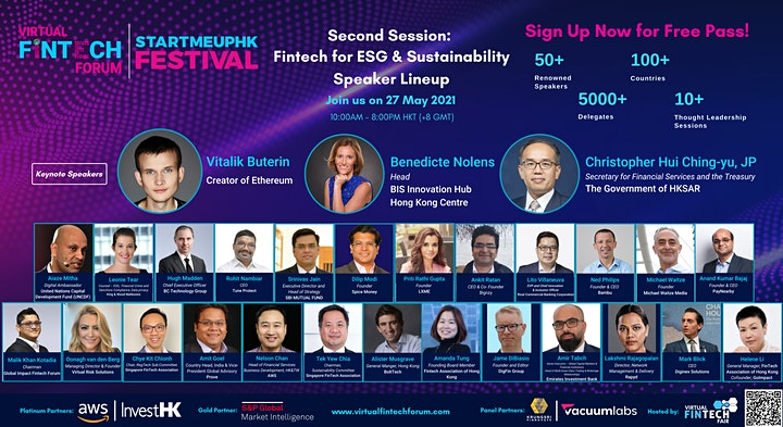 Virtual FinTech Forum 2021 image