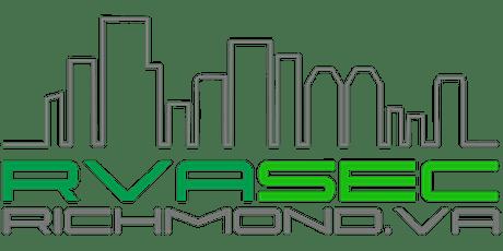 RVAsec 2021 Security Conference tickets