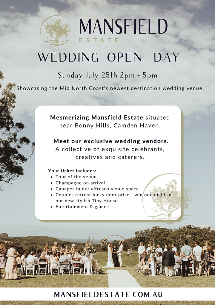 Mansfield Estate Wedding Open Day image