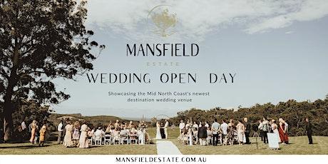 Mansfield Estate Wedding Open Day tickets