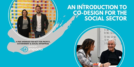 An introduction to co-design for the social sector tickets