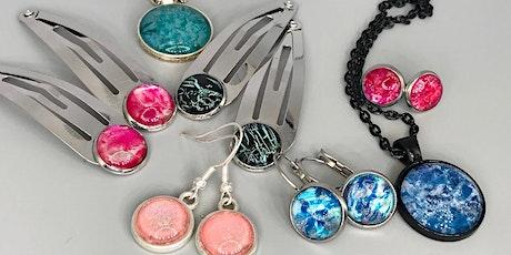 School holidays - Jewellery painting tickets