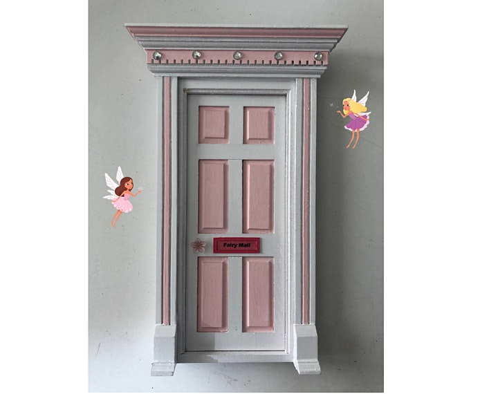 Doll House: Make your own Mini Door Workshop - August image