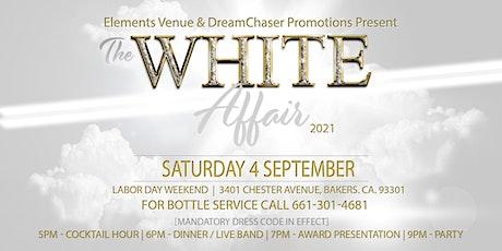 The White Affair 2021 tickets