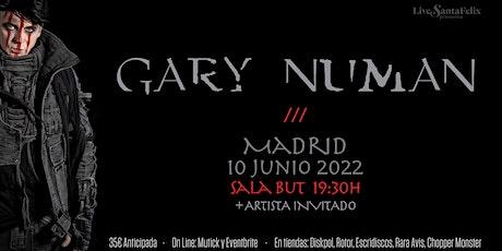Gary Numan en concierto en Madrid entradas