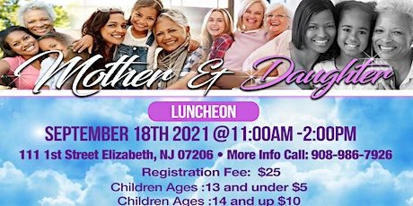 Daughters of the Kingdom  Mother & Daughter Luncheon tickets