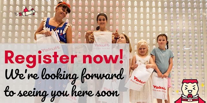 Yakult Australia School Holiday Program image