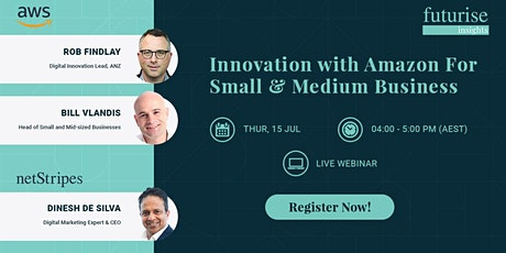 Innovation with Amazon for Small and Medium Business tickets