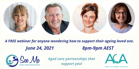 Who Cares When You Cannot? Accessing support for your ageing loved one. tickets