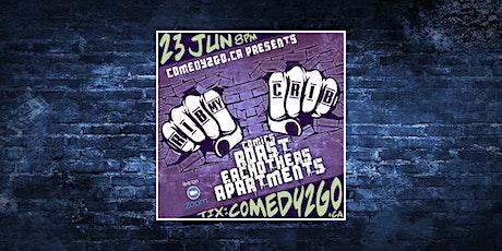 Comedy2Go presents: RIB my CRIB | Online Comedy Show - JUNE EDITION tickets