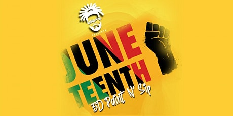 Urban Turquoise Juneteenth Sip N Paint Event tickets