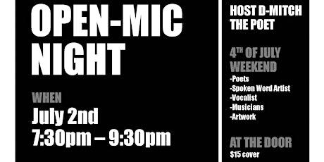 Open-Mic Night tickets