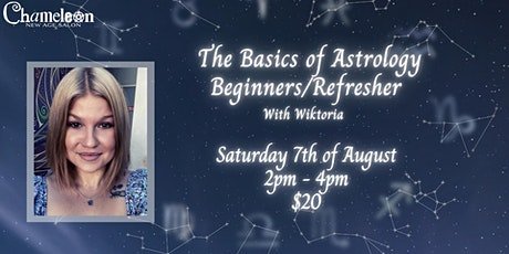 The Basics Of Astrology (Beginners/Refresher) With Wiktoria tickets