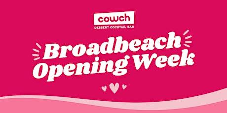 Cowch Broadbeach Opening! tickets