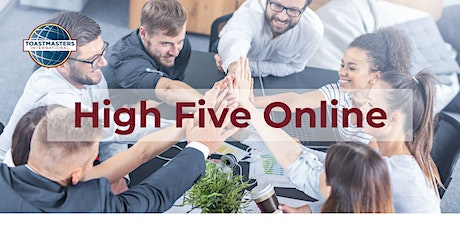 High Five Online Toastmasters - Weekly Meeting tickets