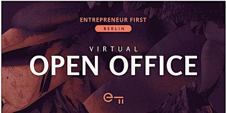 Entrepreneur First Berlin Virtual Open Office tickets