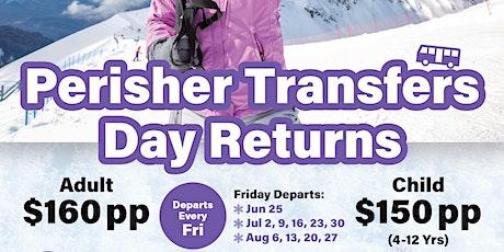 Perisher Day Returns Coach Travel tickets