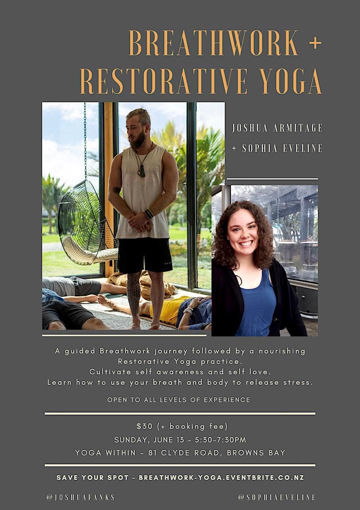 Breathwork + Yoga Workshop image