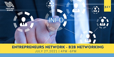 The Entrepreneurs Network : B2B Networking tickets