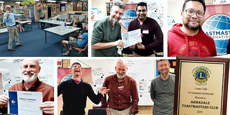 Become a Confident Speaker - Armadale Toastmasters tickets