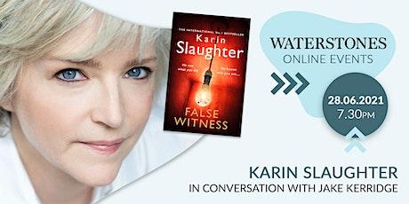 Karin Slaughter in conversation with Jake Kerridge tickets