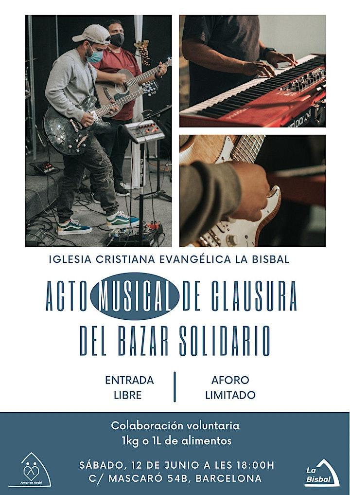 Imagen de Acto musical Bazar Solidario