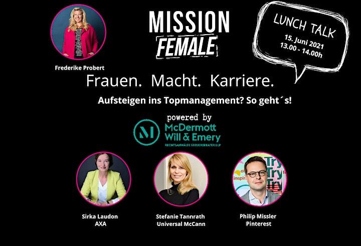 Lunch-Talk: Aufsteigen ins Topmanagement? So geht´s!: Bild