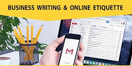 Live Webinar: Business Writing & Online Etiquette tickets