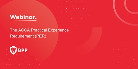 The ACCA Practical Experience Requirement (PER) tickets