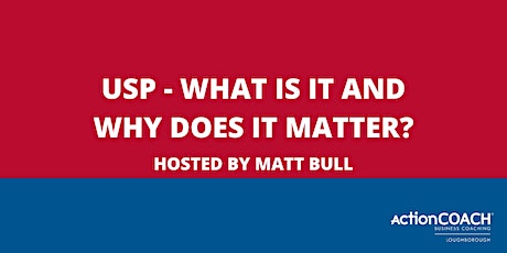 USP - WHAT IS IT AND WHY DOES IT MATTER? tickets
