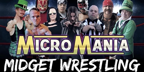 MicroMania Midget Wrestling: Lake Havasu, AZ at BJs Cabana Bar tickets