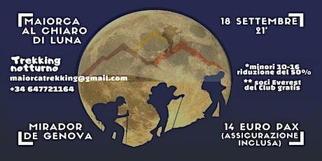 Maiorca al chiaro di luna / Mallorca a la luz de la luna tickets