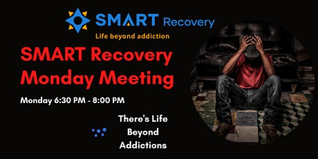 SMART Recovery Monday Online Meeting tickets