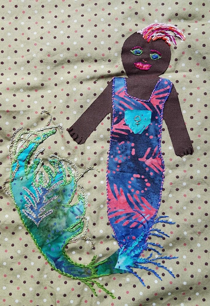 Sew Keighley Pride - textile people workshop at Keighley Creative image