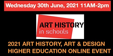 AHiS ONLINE ZOOM ART HISTORY, ART & DESIGN HIGHER EDUCATION EVENT tickets