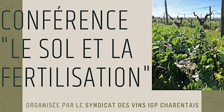 """Conférence sur le thème """" le Sol et la Fertilisation"""" billets"""