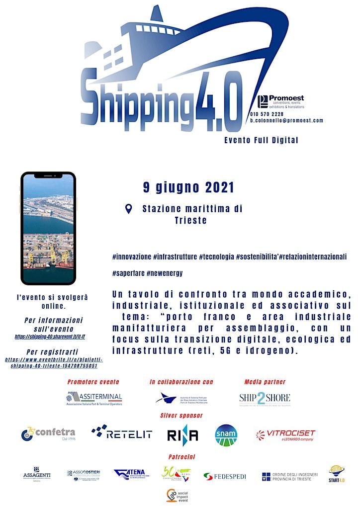 Immagine Shipping 4.0 Trieste