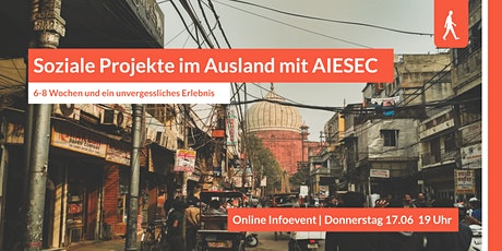 Soziale Projekte im Ausland mit AIESEC Tickets