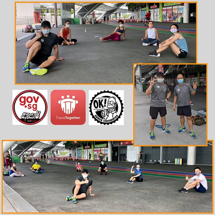 Sat 8am - Functional Fitness with Kettlebells-Outdoor ActiveSG approved image